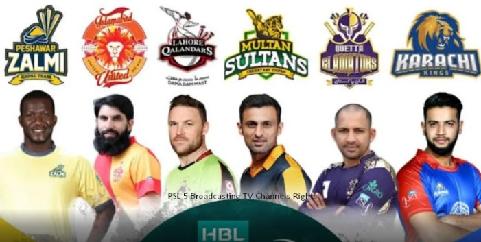 2020 PSL Live Streaming PSL 5 Broadcasting TV Channels Rights Country Wise List