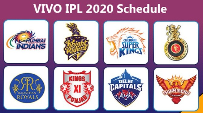 IPL 2020 Schedule PDF Download - Vivo IPL 13 Schedule