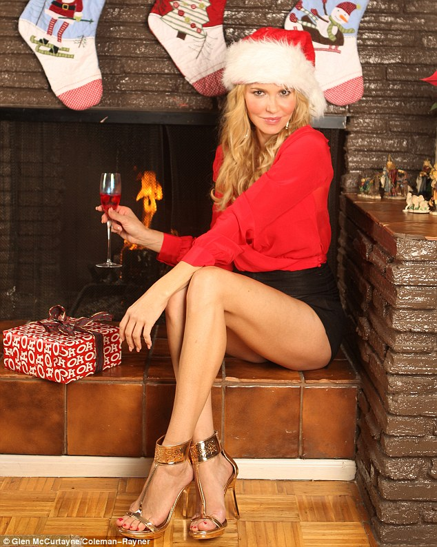 Cute My Melody Wallpaper Brandi Glanville Is A Sexy Santa