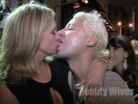 Sonja Morgan Completely Wasted Shes The Straw Amp The