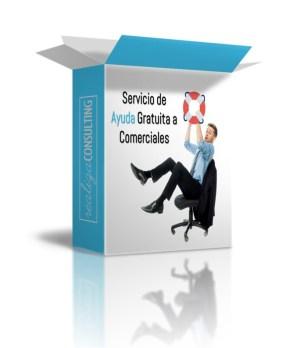 caja servicio ayuda a comerciales