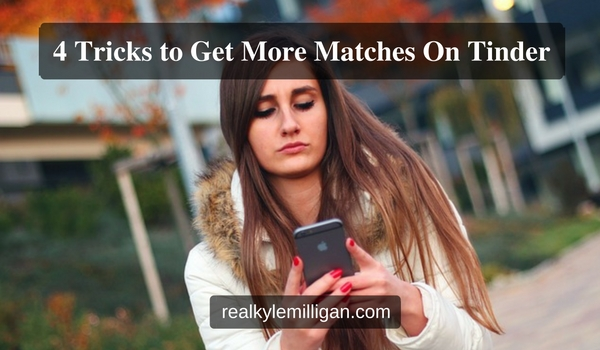 How to get more matches on tinder new adult author kyle milligan