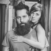 Boost your confidence with a girl bearded guy and woman