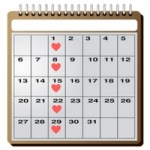 Calendar for Going on a Date a Week