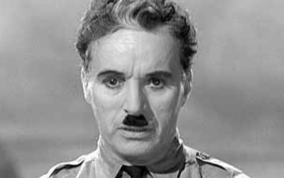 """""""One of the finest and most uplifting speeches of all time.""""  How Chaplin still speaks to us."""
