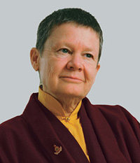 Pema Chodron, author of When Things Fall Apart