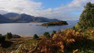 The beauty of the Scottish Highlands helped me to find peace
