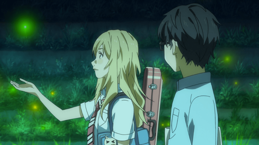 Your Lie In April Quotes Wallpaper Your Lie In April Episode 11 Mage In A Barrel