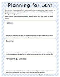 Ash Wednesday Activities : wednesday, activities, Activities, Catholic, Families, Printable