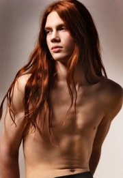 worlds male models real long hair