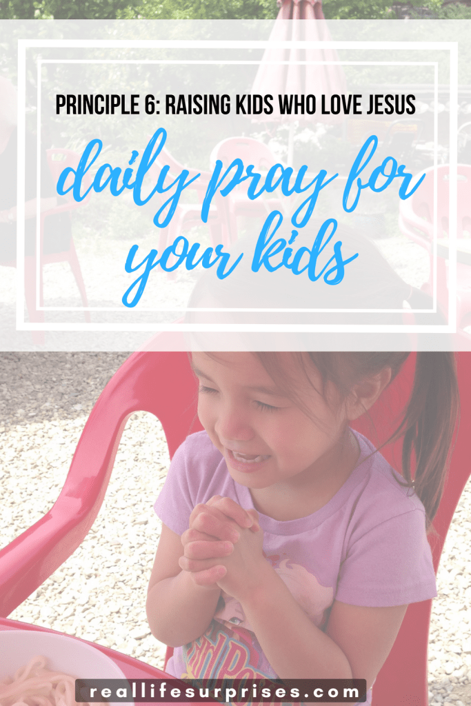 Daily Pray for Your Kids