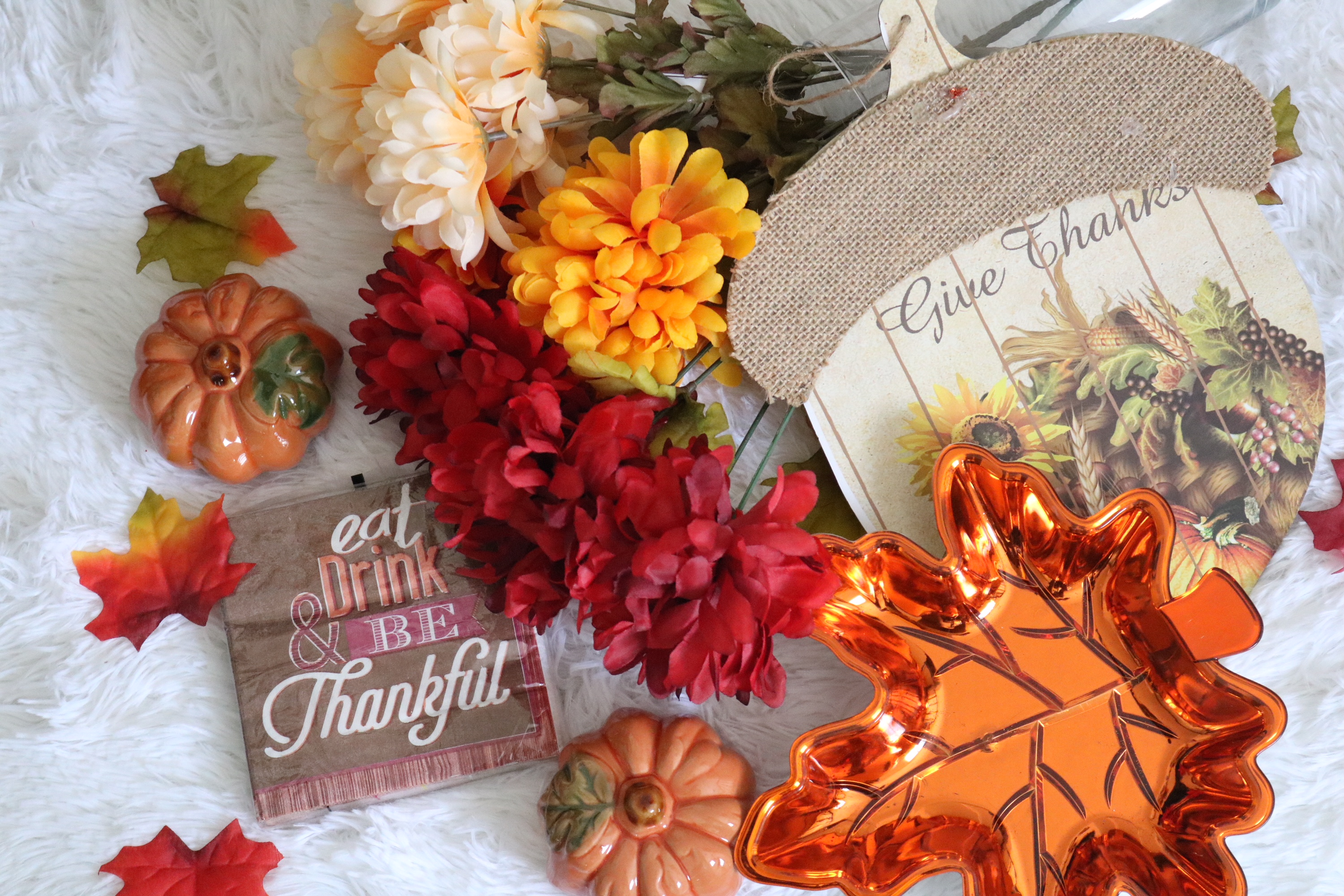 Dollar Tree Fall Home Decor