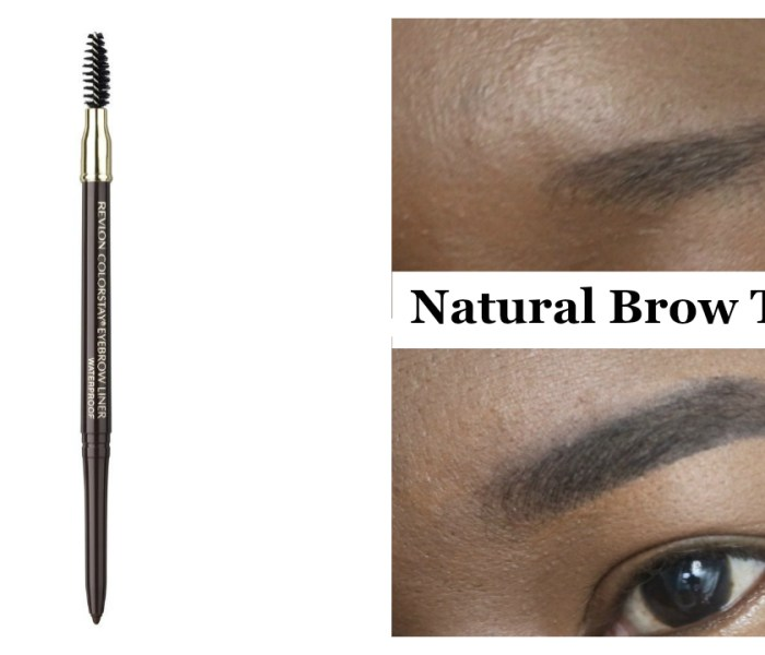 Natural Brow Routine