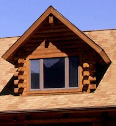 Dormers  Real Log Homes  Real Log Homes