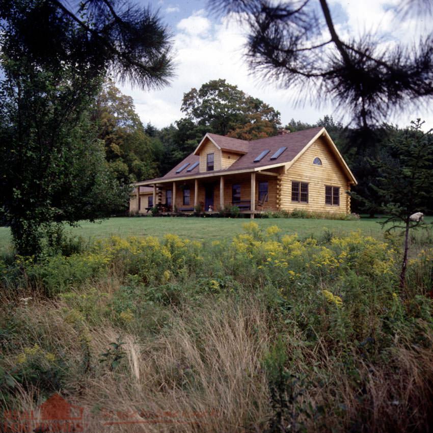 Vermont Real Log Homes  Log Homes VT