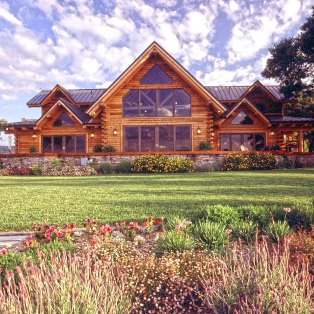 landscaping easy log home maintenance