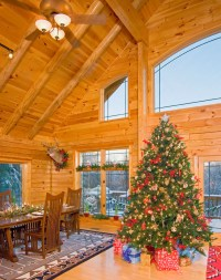 Selecting a Great Christmas Tree for Your Log Home   Real ...