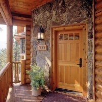Exterior Details for Your Log Home  Real Log Style