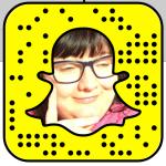 Snapcode for Rachel: itsasnaptv | Really Social Blog