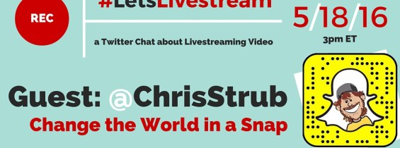LetsLivestream Twitter Chat with Chris Strub