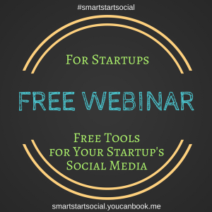 (image) Free Webinar | Really Social | Free Tools for Your Startup's Social Media