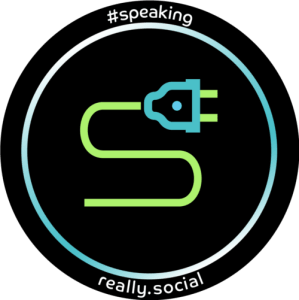 Really Social Speaking for your startup's social media (icon)