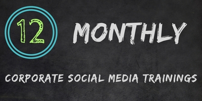 Really Social Corporate Social Media Training | Monthly