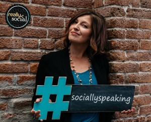 Rachel Moore socially speaking by Really Social
