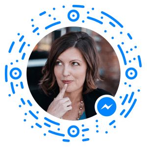 messenger code for scanning to reach Rachel Moore's Facebook Messenger