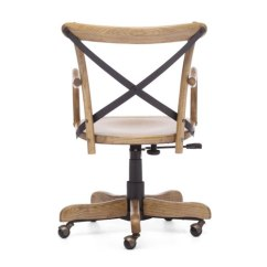 Swivel Chair Without Wheels Modern Slipcovers French Cafe Style Office - Really Cool Chairs