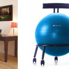 Ball Chairs Babybjorn Potty Chair Green Gaiam Balance Really Cool Custom