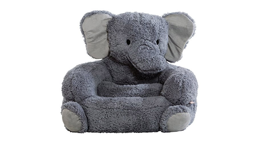 Elephant Plush Kids Chair  Really Cool Chairs