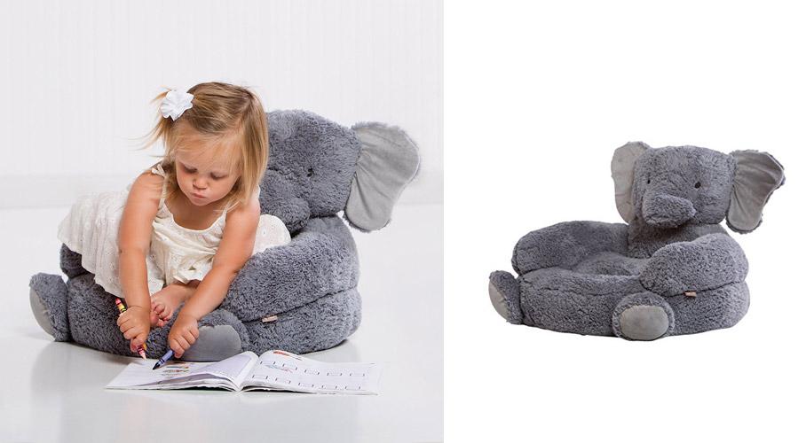 kids plush chairs swivel chair cushions elephant really cool
