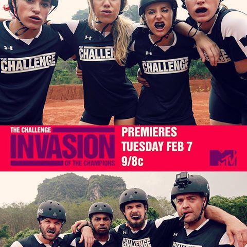 MTV The Challenge: Invasion of the Champions