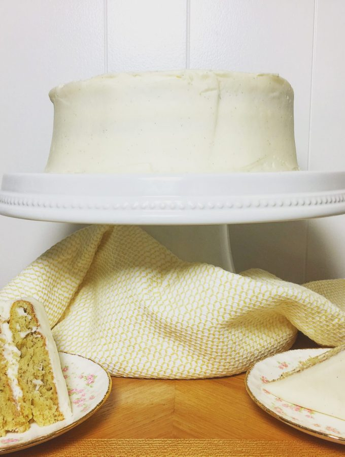 Banana Daiquiri Cake