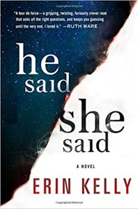 He Said She Said by Erin Kelly Book Review