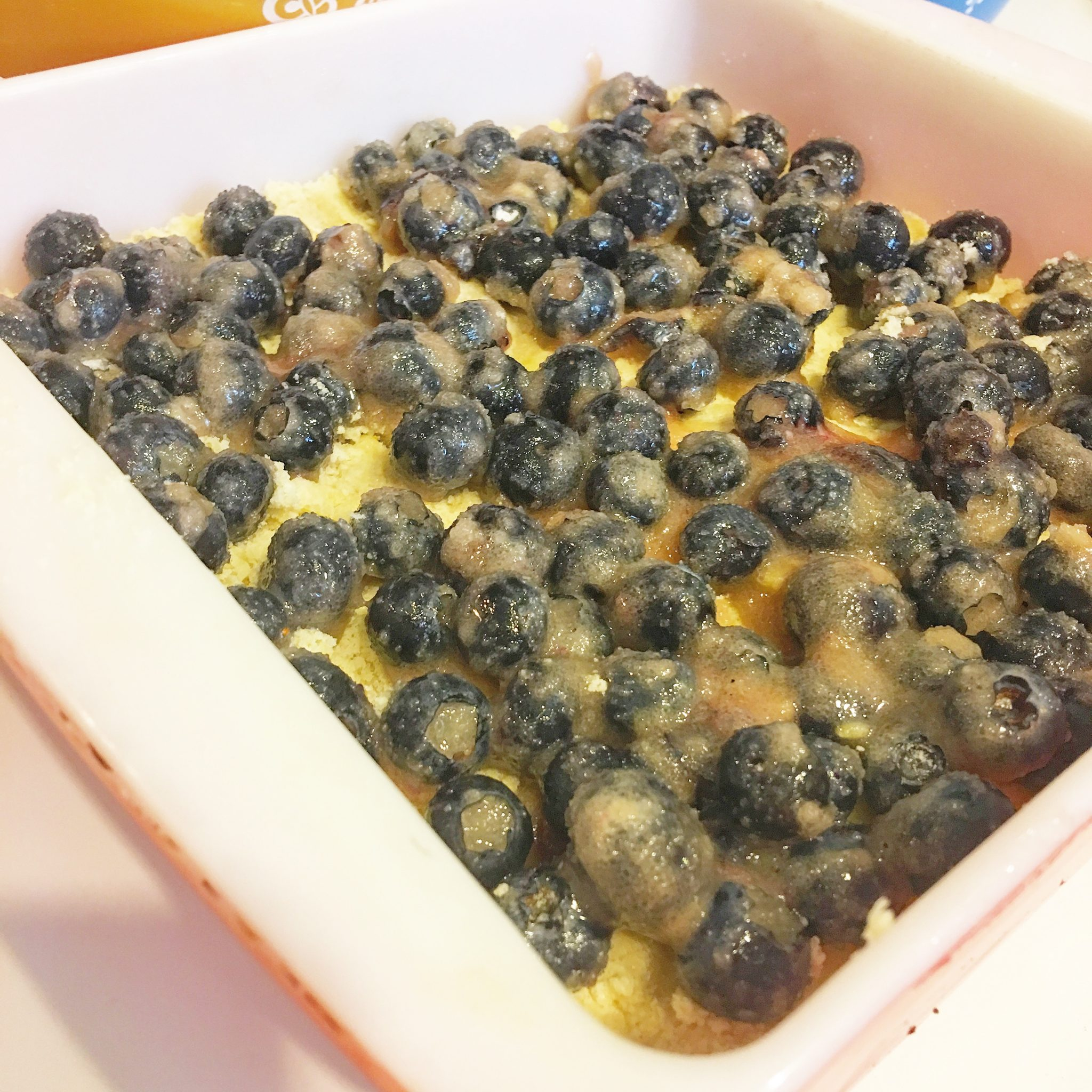 Grandbaby Cakes Blueberry Crumble Bars Recipe Really Into This