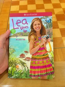 Lea Dives In Book American Girl at Washington Square Mall