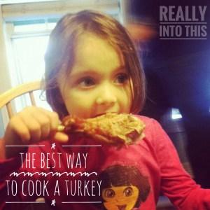 Best Way to Cook a Turkey Really Into This Roast Turkey Leg Alton Brown Good Eats Recipe