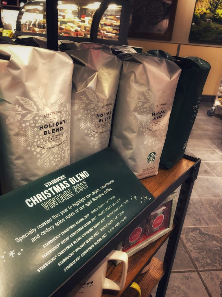 Starbucks Holiday Drinks 2017 Holiday Blend Really Into This Blog