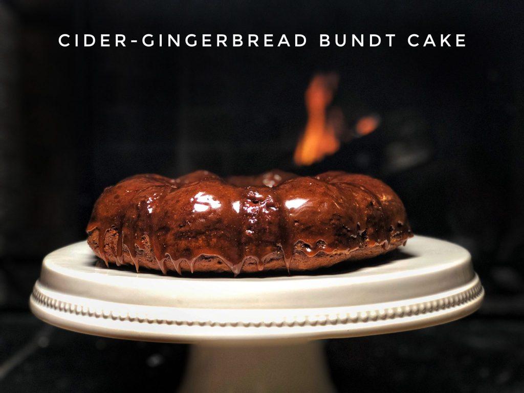 Cider Gingerbread Bundt Cake Really Into This Blog Pinterest