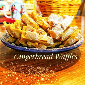 Gingerbread Waffles Recipe King Arthur Flour Really Into This Blog Pinterest