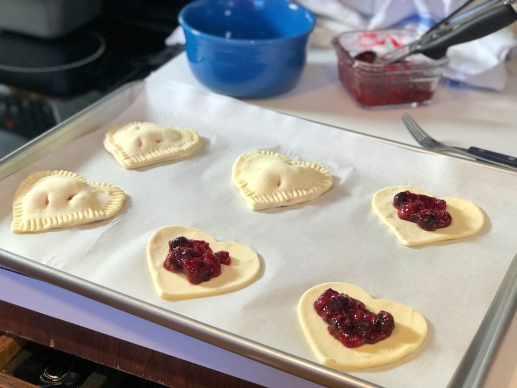 Raspberry Hand Pie Recipe Really Into This Blog Dough With Filling