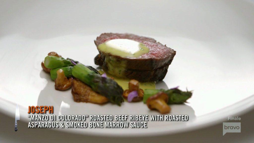 Joe Flamm Bee Ribeye Season 15 Top Chef Finale
