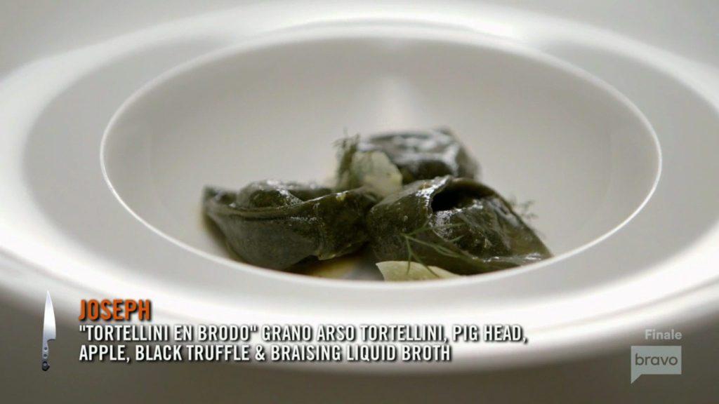 Joe Flamm Tortellini Season 15 Top Chef Finale
