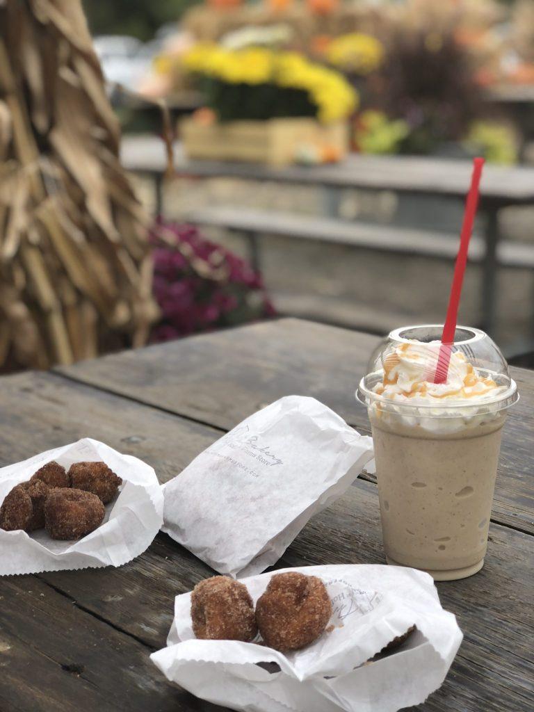 Hoffman Farms Store Caramel Apple Milkshake Apple Cider Doughnut Really Into This Blog