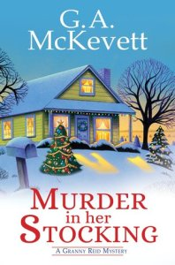 Murder in Her Stocking by G.A. McKevett Book Review Really Into This Blog Goodreads