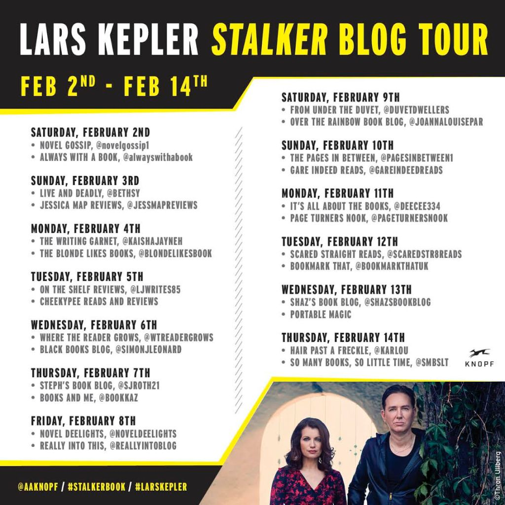 Stalker by Lars Kepler Book Review Really Into This Blog Tour