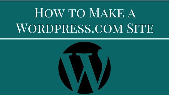 How to Make a WordPress