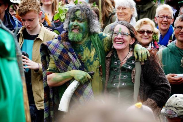 Beltane green folk
